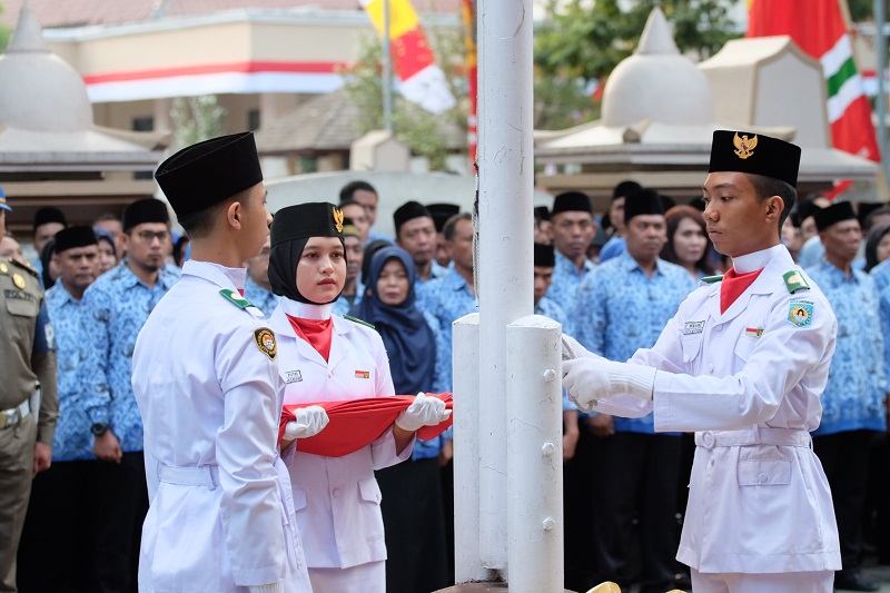 Peringatan HUT RI Ke-74 Kota Mataram
