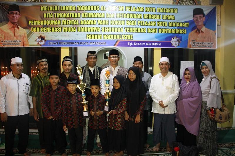 Penutupan Lomba Tadarus Al Qur'an Tingkat Pelajar Tahun 2019