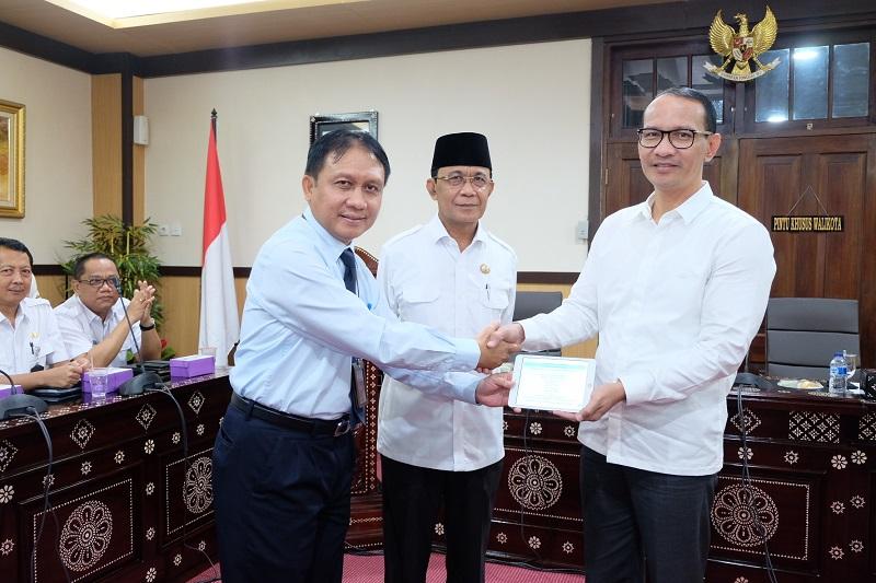 Wali Kota dan Wakil Wali Kota Mataram Sampaikan SPT Tahunan