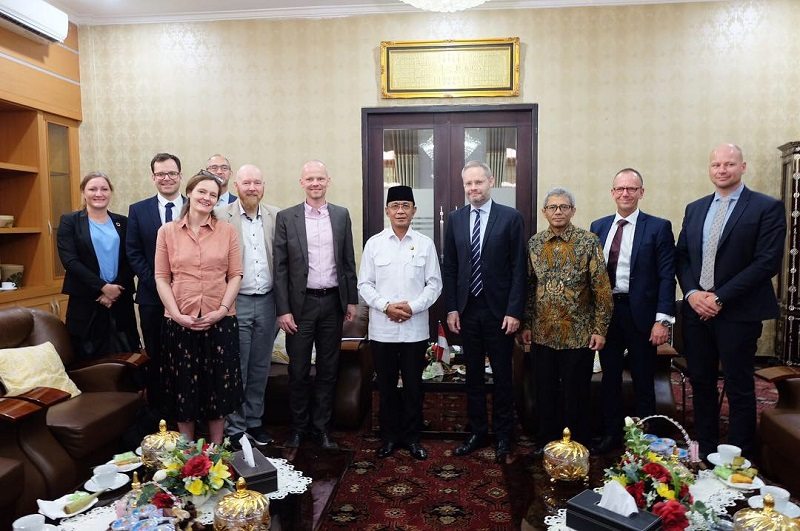 Kunjungan Duta Besar Denmark ke Kota Mataram