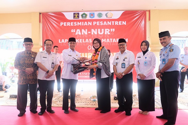 Wali Kota Hadiri Peresmian Pesantren An-Nur Lapas Mataram