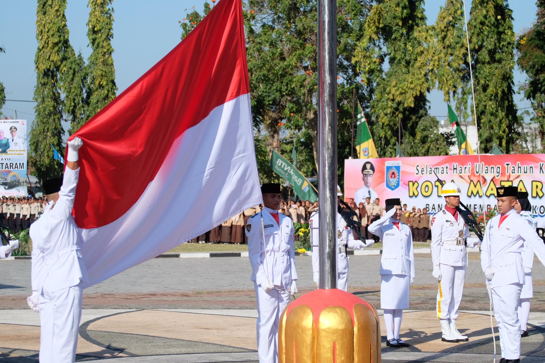 SAMBUTAN GUBERNUR NTB PADA ACARA  PERINGATAN ULANG TAHUN KE-26 KOTA MATARAM