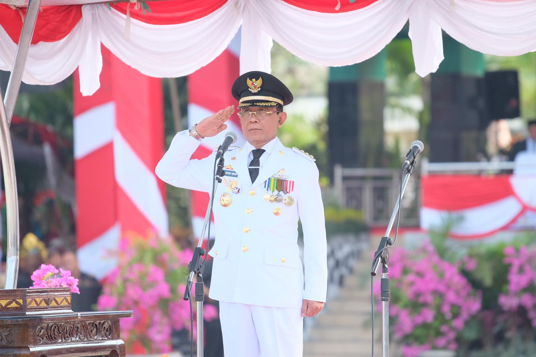 Upacara HUT Kota Mataram ke-26