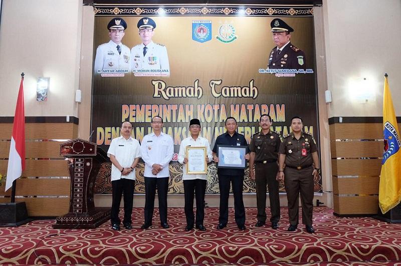 Ramah Tamah dan Pemaparan Tentang Peran Tim Pengawal, Pengamanan Pemerintahan Dan Pembangunan Daerah (TP4D) oleh Kejaksaan Negeri Mataram