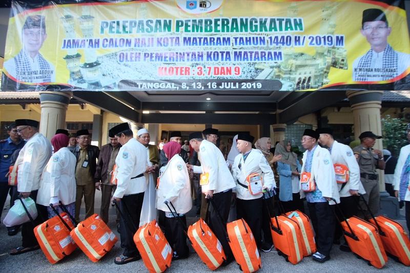 Pelepasan JCH Kota Mataram Tahun 2019/1440 H