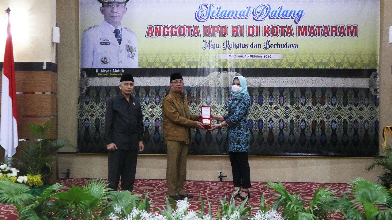 Wali Kota Terima Kunjungan Anggota Komite III DPD RI Dapil NTB