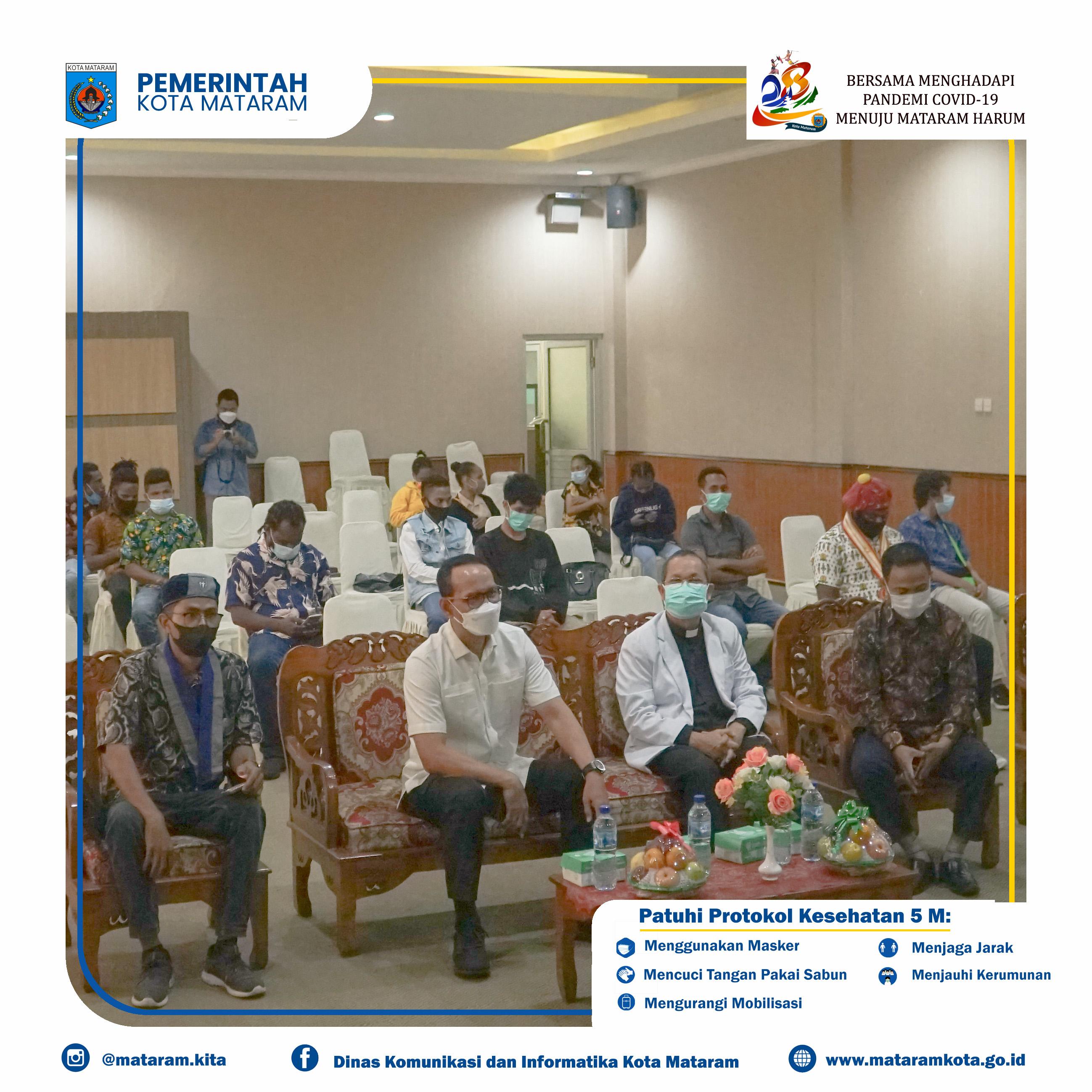 Wali Kota Mataram Hadiri Pelantikan Badan Pengurus Cabang (BPC) Gerakan Mahasiswa Kristen Indonesia (GMKI)