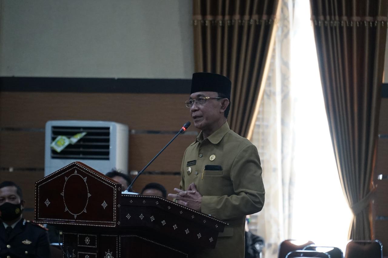 HUT TNI dan Pembagian Hadiah Lomba Kampung Sehat Tingkat Kota Mataram