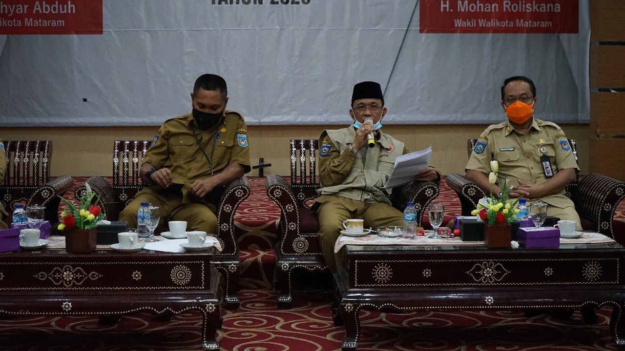 Pemerintah Kota Mataram Tanggung Biaya Rapid Test dan Tes Swab Mandiri Untuk Warga Kota Mataram