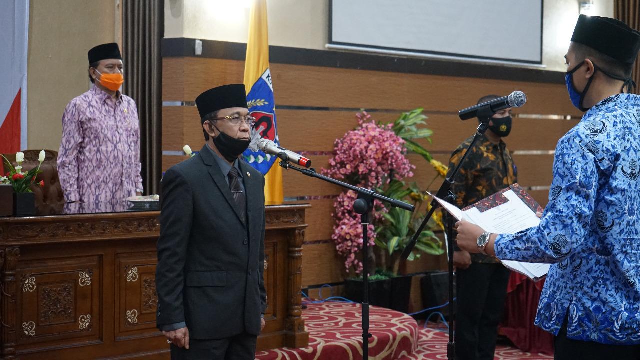 270 CPNS Kota Mataram Ambil Sumpah Jabatan