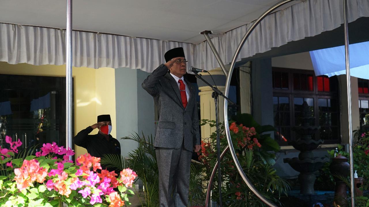 Walikota Pimpin Upacara Peringatan Kemerdekaan RI Ke-75