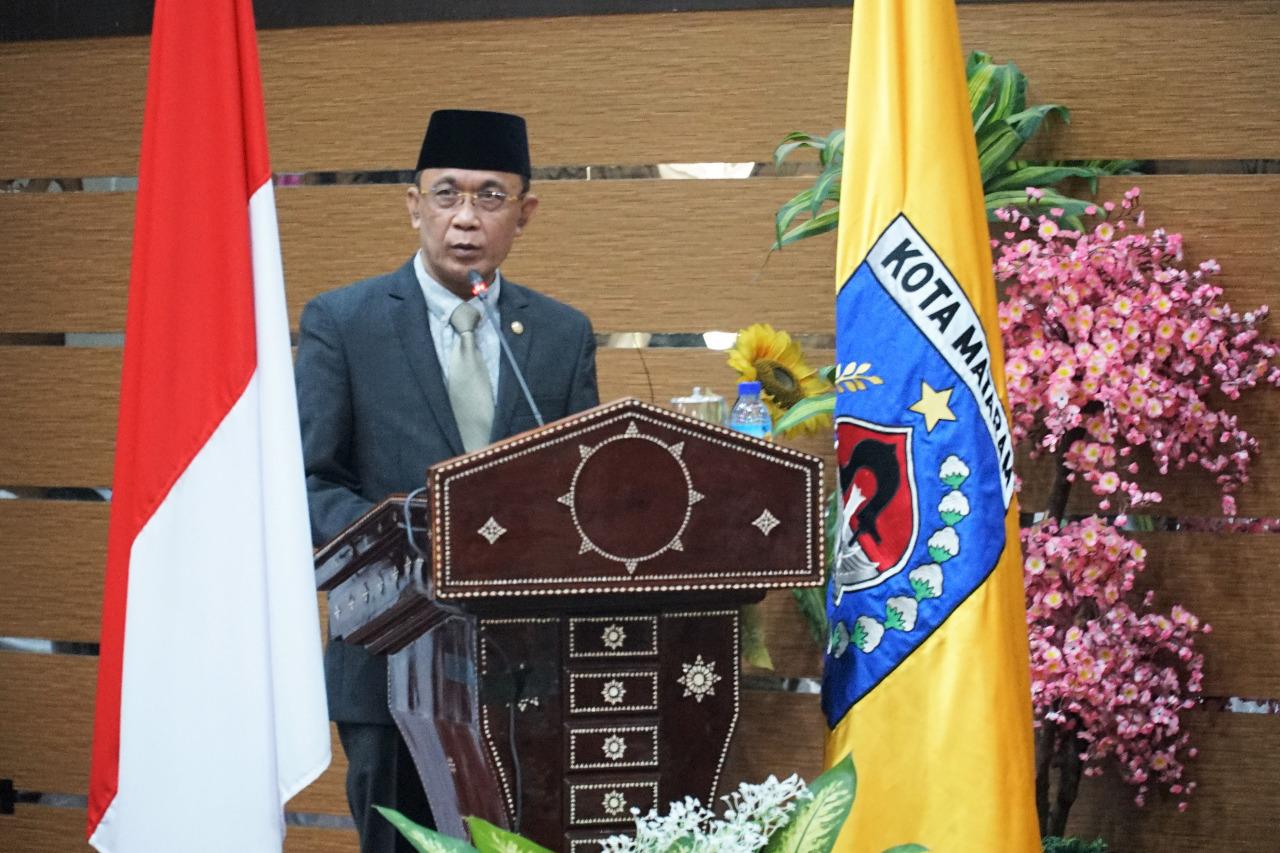 Walikota Sampaikan Pidato Jelang Peringatan Hari Ulang Tahun Kota Mataram XXVII