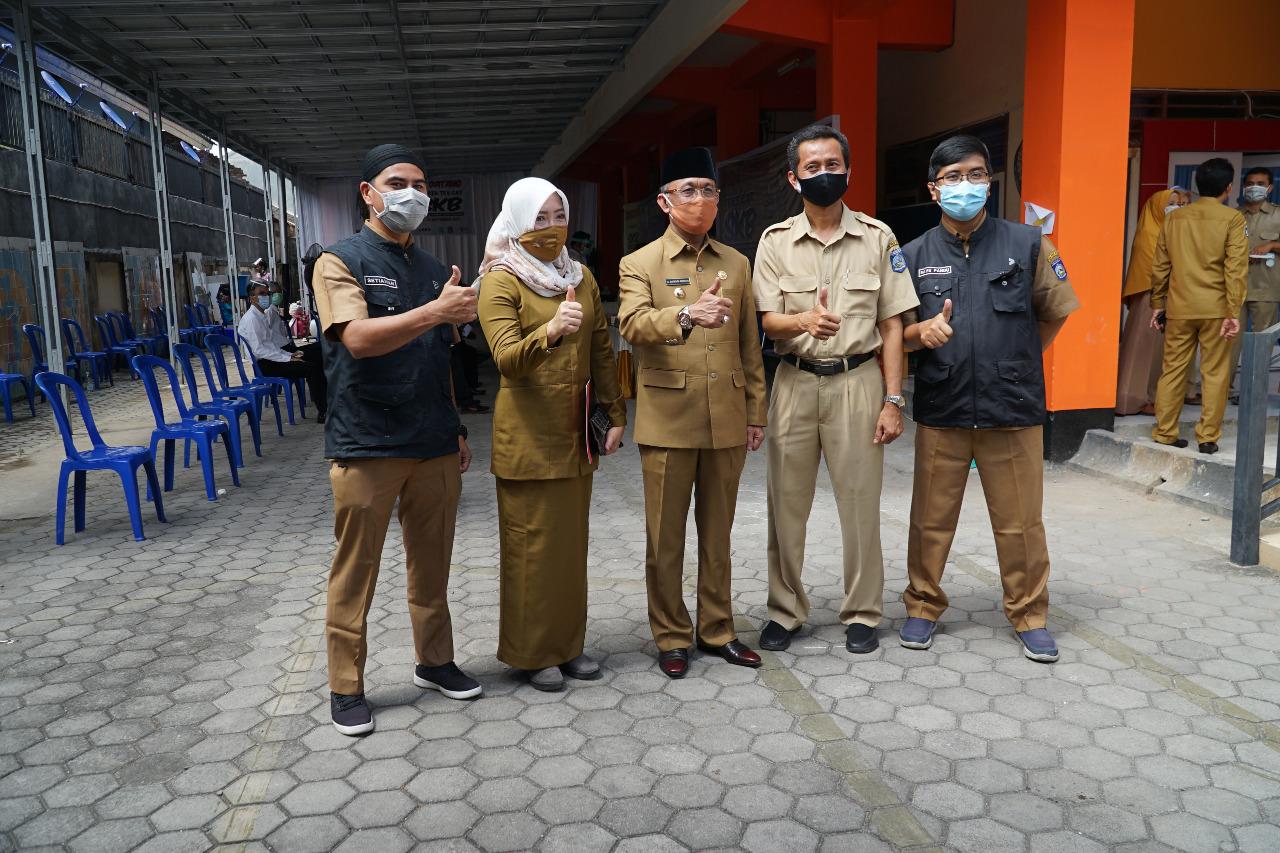 Wali Kota Tinjau Pelaksanaan SKB Kota Mataram