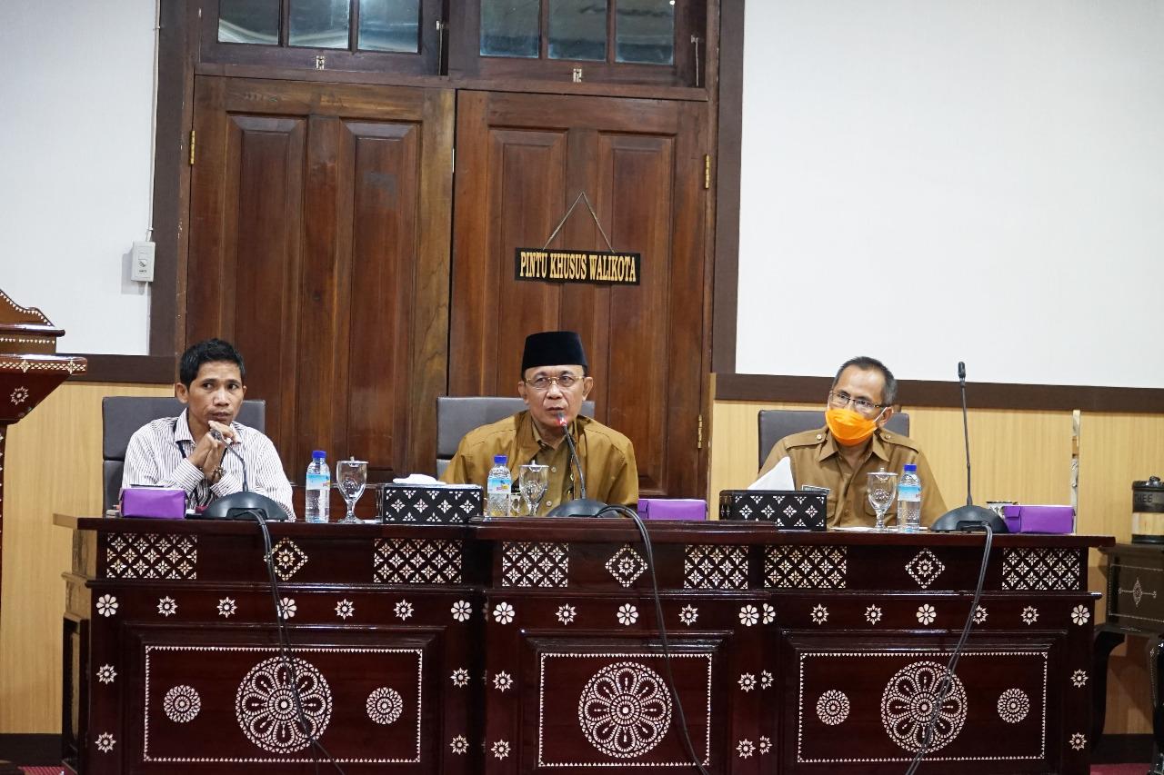 Walikota Terima Kunjungan Tim Satgas Covid 19 Nahdlatul Ulama (NU) Kota Mataram