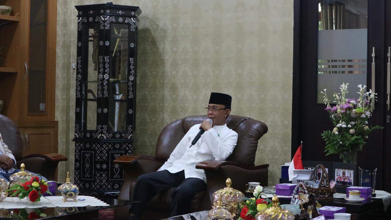 Pemuda Muhammdiyah Kota Mataram Silaturahmi dengan Wali Kota