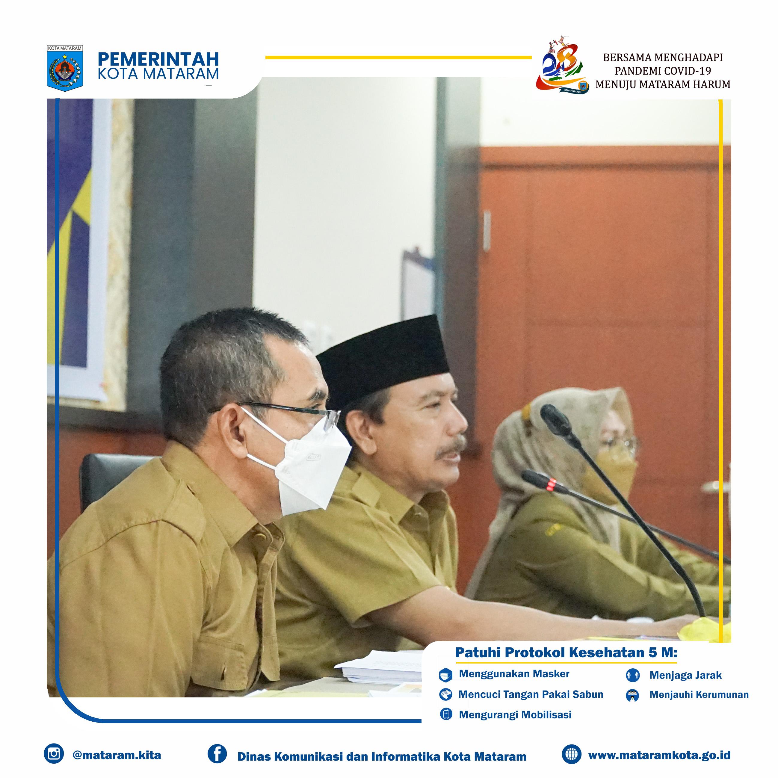 Rapat Evaluasi SAKIP dan Implementasi Reformasi Birokrasi Pemerintah Kota Mataram