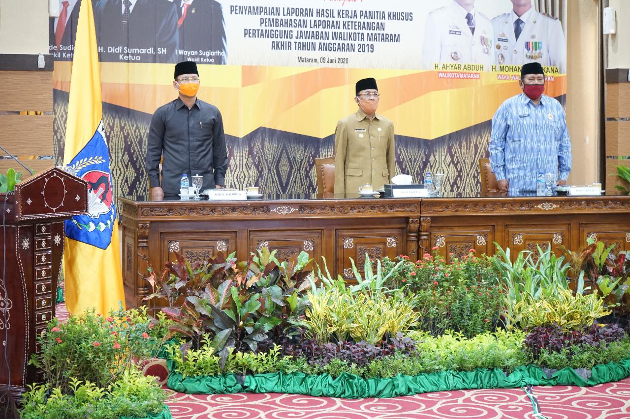 Walikota Komitmen Tingkatkan Kualitas Penyelenggaran Pemerintahan
