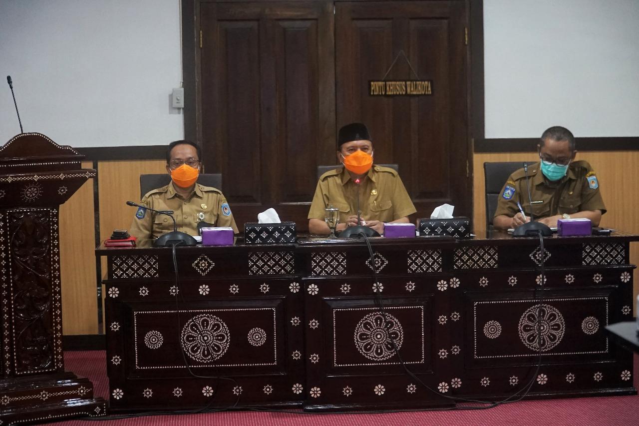 Sekda Kota Mataram Pimpin Rakor Evaluasi Pelaksanaan APBD Kota Mataram