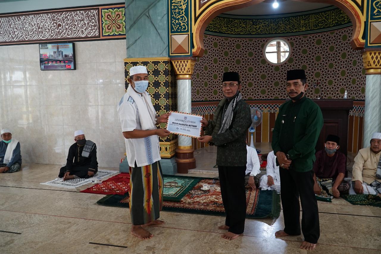 Wali Kota Silaturahmi dengan Jama'ah Masjid Raudatul Muttaqin