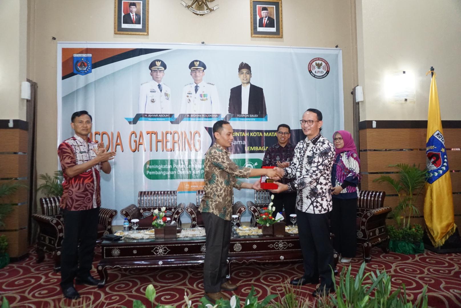 MEDIA GATHERING KOMISI PENYIARAN INDONESIA DAERAH (KPID) PROVINSI NUSA TENGGARA BARAT