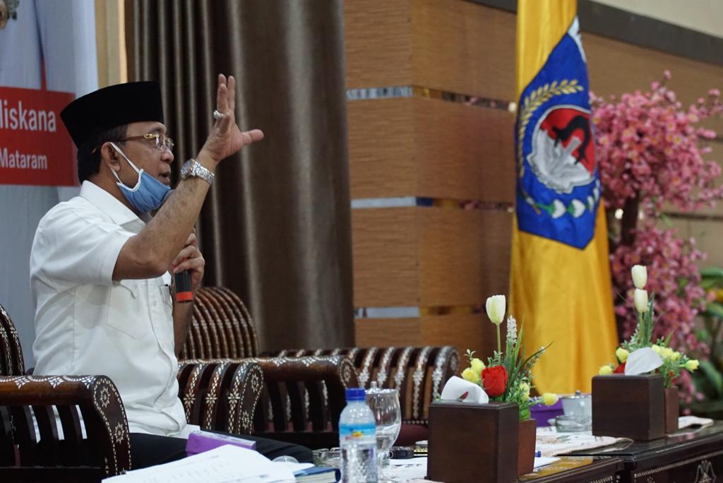 Sebanyak 60.000 warga Kota Mataram terdampak Covid-19 dapat Bansos selama 6 Bulan