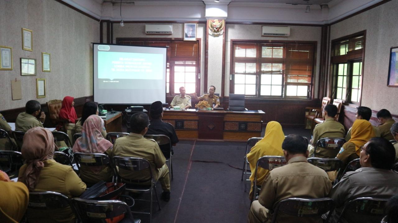 Balitbang menyelenggarakan Sosialisasi Juknis Lomba Inovasi Daerah Tingkat Kota Mataram Tahun 2020