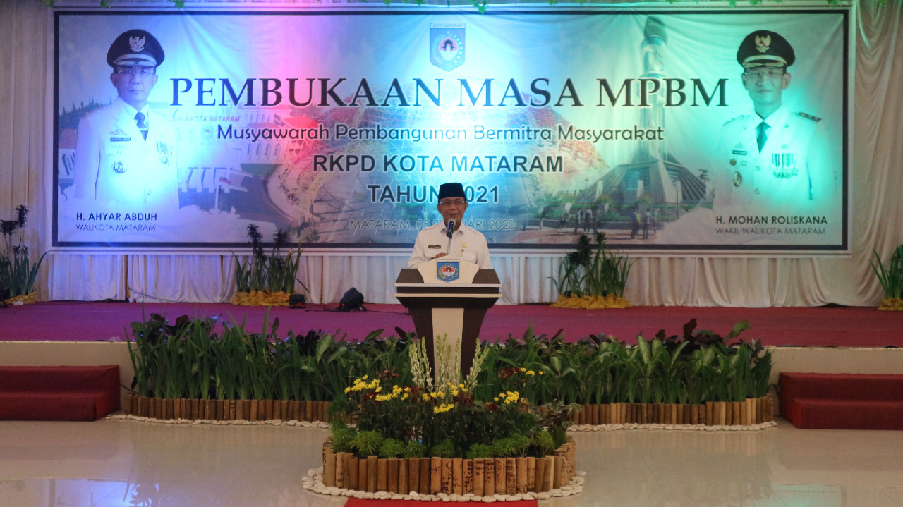 Pembukaan Masa MPBM Kota Mataram Tahun 2021