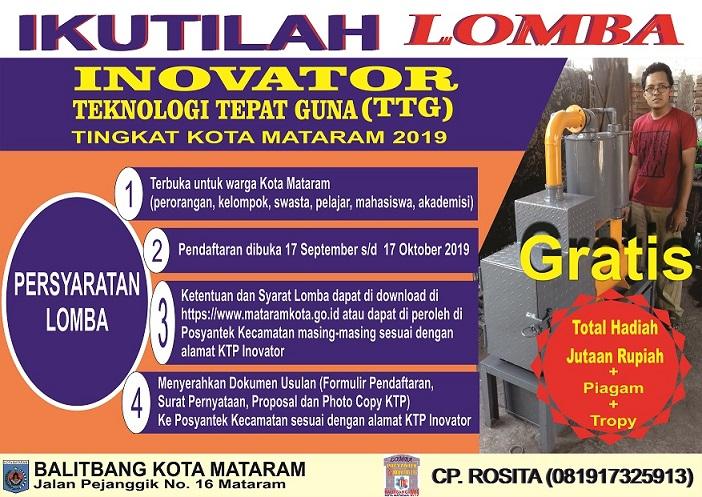 Lomba Inovator TTG