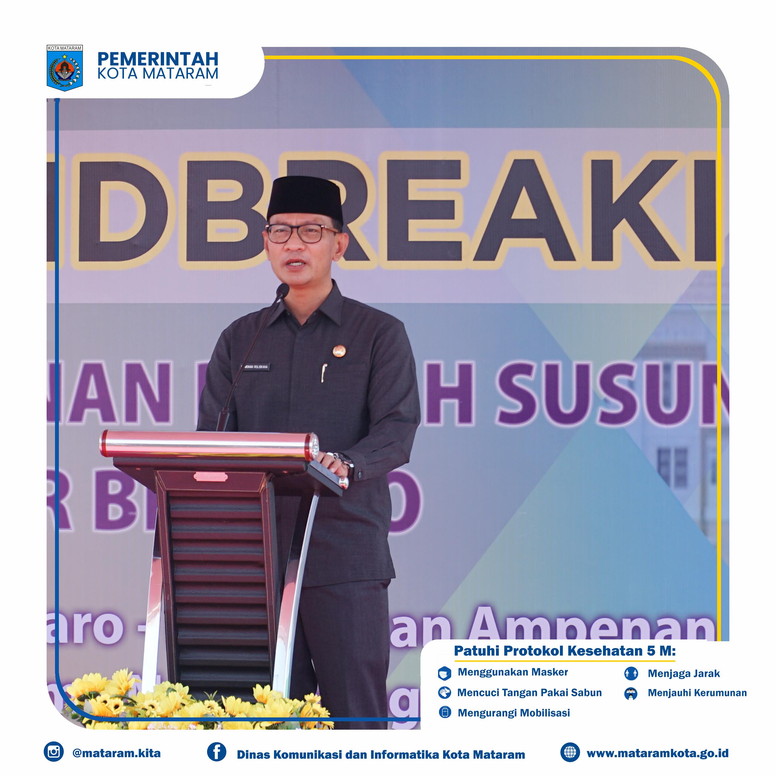 Ground Breaking Ceremony pembangunan rumah susun Masyarakat Berpenghasilan Rendah (MBR) Bintaro