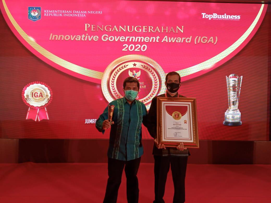 Kota Mataram Raih Penghargaan Innovative Government Award (IGA) 2020