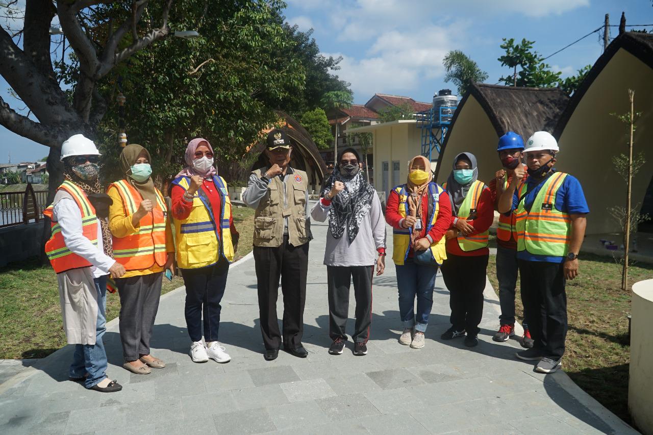 Wali Kota Kunjungi Pembangunan Taman Bawak Kokok