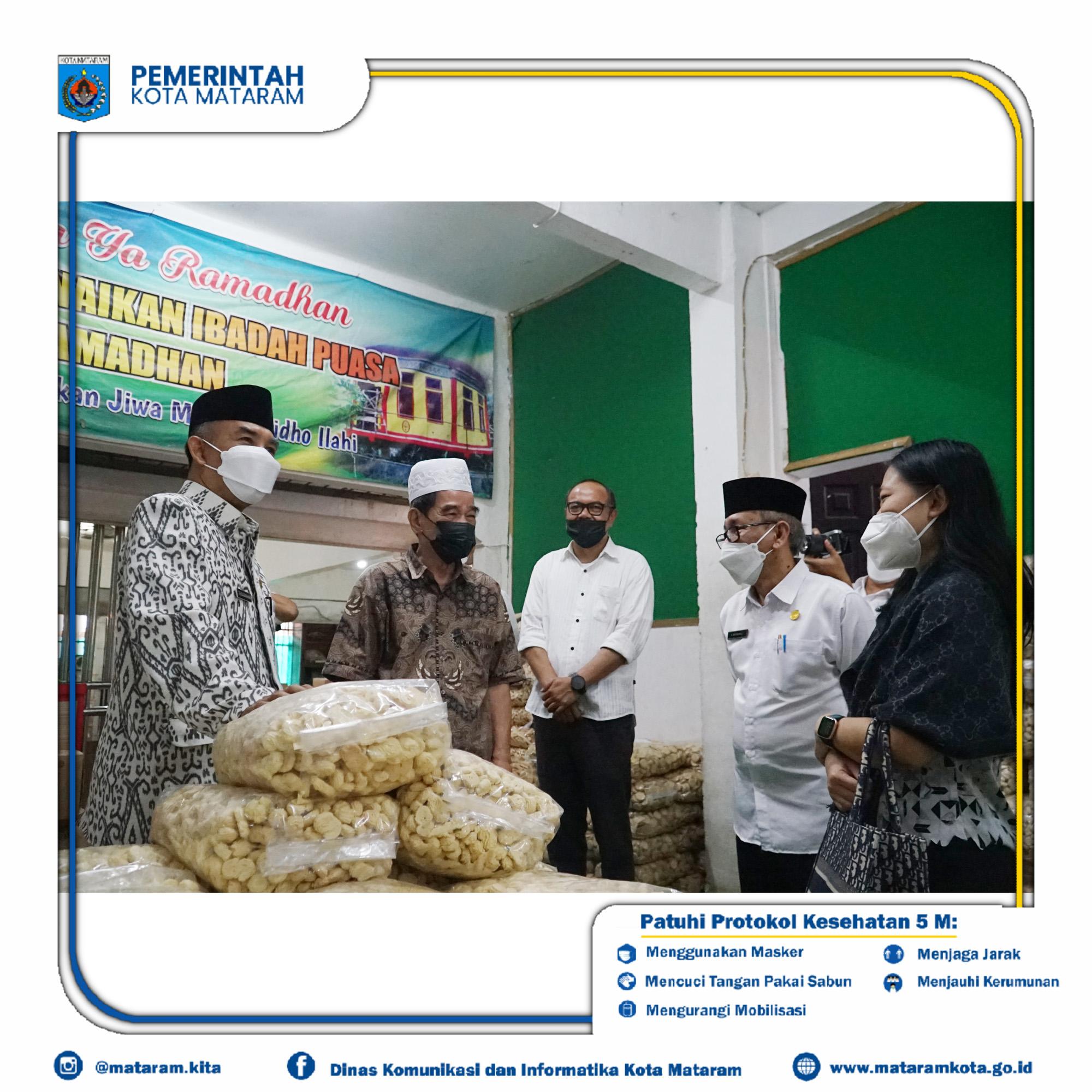 Wakil Wali Kota Mataram TGH. Mujiburrahman Pimpin Rapat Koordinasi Tim Pengendalian Inflasi Daerah Kota Mataram