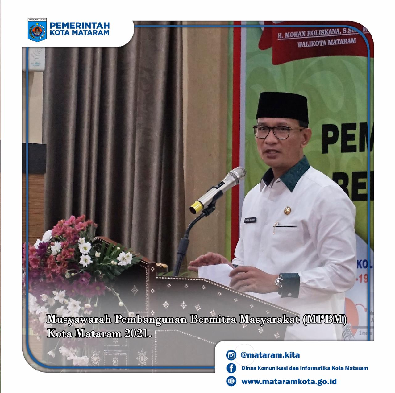 Wali Kota Buka Musyawarah Pembangunan Bermitra Masyarakat (MPBM) Tahun 2022