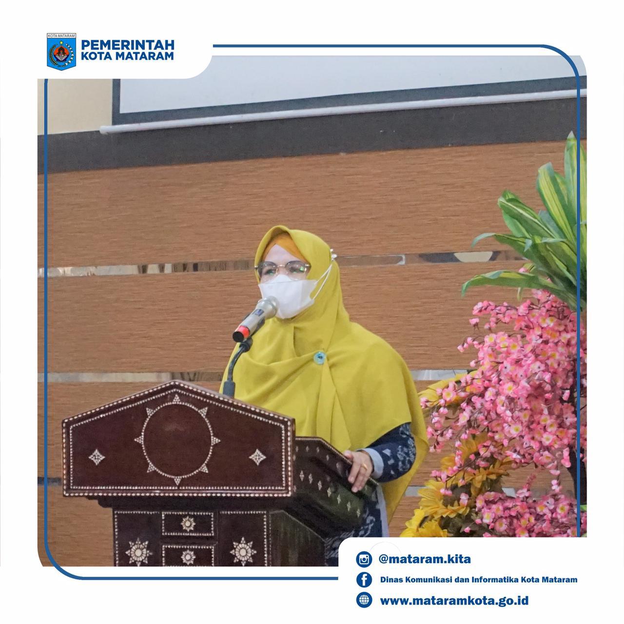 Ketua GOW Kota Mataram Buka Pelatihan Pilah Sampah Dalam Rangka Hari Kartini