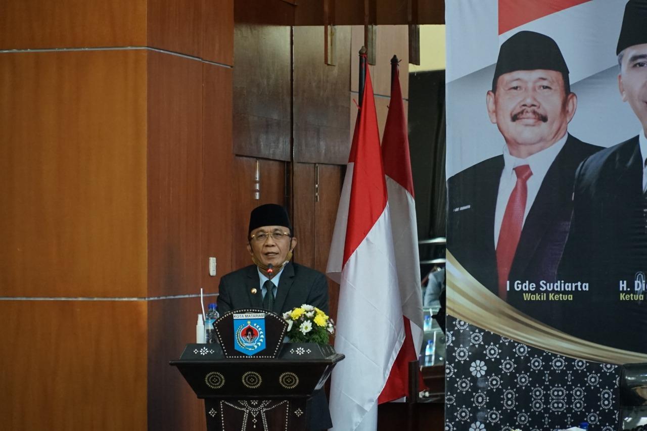 Wali Kota Hadiri Pengucapan Sumpah/Janji PAW Anggota DPRD Kota Mataram