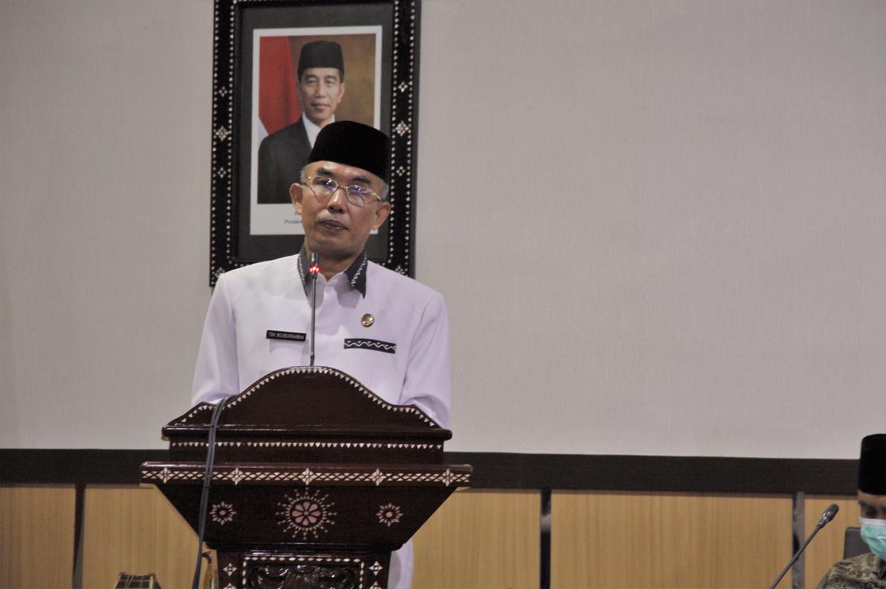 Wakil Wali Kota Mataram Lepas Kafilah STQ XXVI Tingkat Provinsi NTB