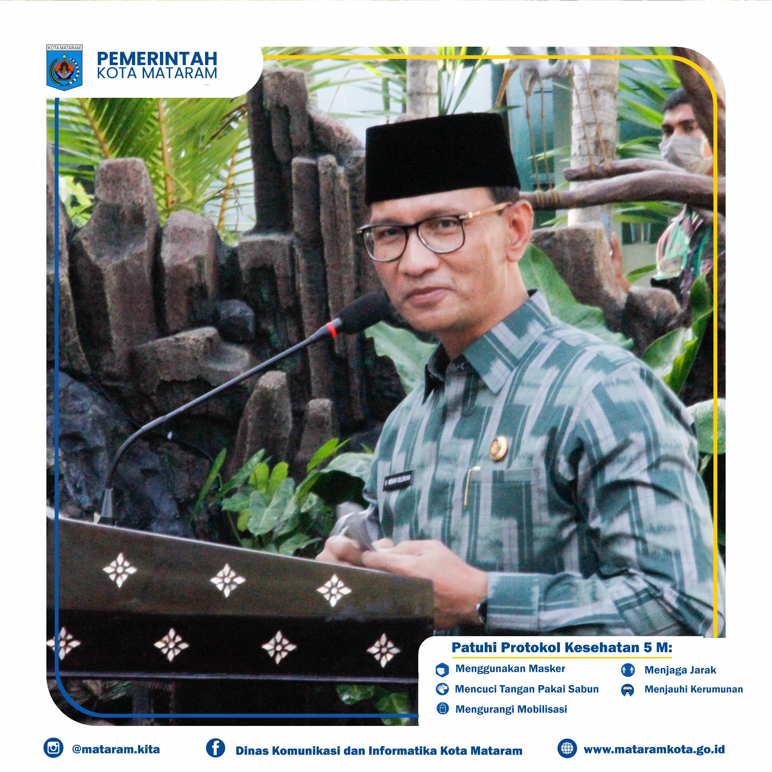 Wali Kota Mataram Bersama Danrem, Dandim Resmikan Kodim 1606/ Mataram
