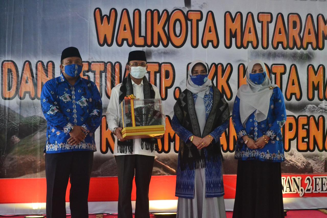Tunas Pamit Wali Kota Mataram di Kecamatan Ampenan