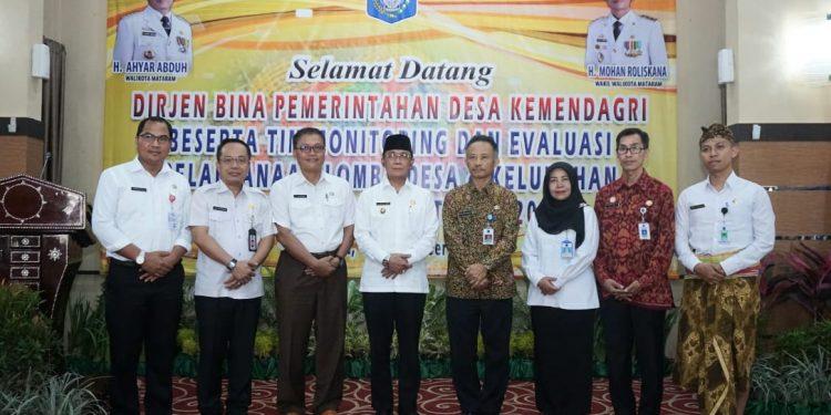 Kunjungan Direktur Evaluasi Perkembangan Desa Kementrian Dalam Negeri Republik Indonesia Beserta Tim Monitoring Dan Evaluasi Pelaksanaan Lomba Desa dan kelurahan Tingkat Nasional Tahun 2019