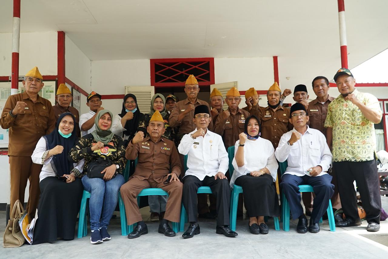 Wali Kota Silaturhmi Dengan Veteran Perang Kota Mataram